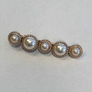 Stas Spenne Gull Strass Pearls