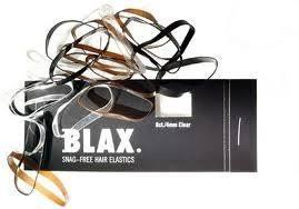 Blax Snag-Free Hårstrikk Black