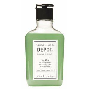 Depot Transparent Shaving Gel