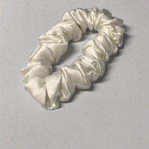 Scrunchie - Hvit