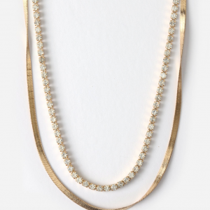 Cupchain & Flat - Necklace