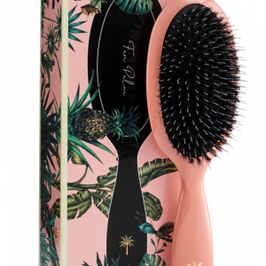 Fan Palm - Medium Flamingo - Hairbrush
